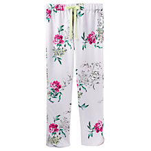 Buy Joules Freya Floral Pyjama Pants, Multi Online at johnlewis.com