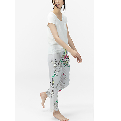 Joules Freya Floral Pyjama Pants, Multi