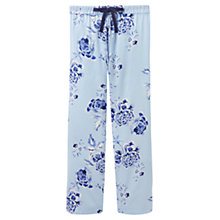 Buy Joules Caroll Floral Pyjama Pants, Blue Online at johnlewis.com
