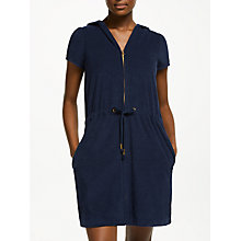 Buy John Lewis Zip Towelling Dress Online at johnlewis.com