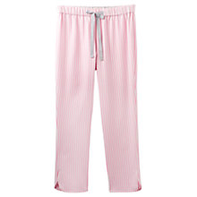 Buy Joules Freya Stripe Pyjama Pants, Pink Online at johnlewis.com