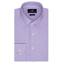 Buy Hackett London Gingham Dobby Tailored Fit Shirt, Lavender Online at johnlewis.com