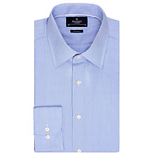 Buy Hackett London Prince of Wales Tailored Check Shirt, Blue Online at johnlewis.com