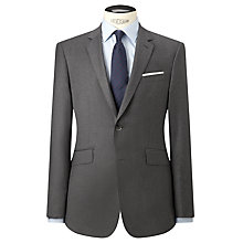 Buy Hackett London Italian Milled Wool Suit Jacket, Charcoal Online at johnlewis.com