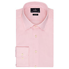 Buy Hackett London Tailored Fit Poplin Shirt, Pink Online at johnlewis.com