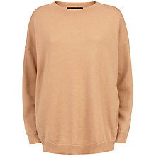 Buy Jaeger Slouchy Wool Sweatshirt Online at johnlewis.com