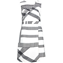 Buy Ted Baker Winslet Checked Wrap Dress, Natural Online at johnlewis.com