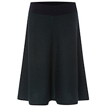 Buy White Stuff Marlborough Knit Skirt, Decadent Green Online at johnlewis.com