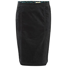 Buy White Stuff Heirloom Velvet Skirt, Grey Online at johnlewis.com
