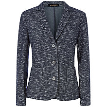 Buy Jaeger Tweed Jacket, Midnight Online at johnlewis.com