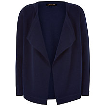 Buy Jaeger Open Front Wool Cardigan, Midnight Online at johnlewis.com