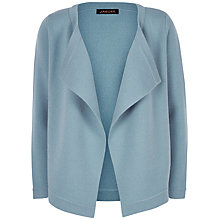 Buy Jaeger Wool Cashmere Blend Cardigan, Slate Blue Online at johnlewis.com