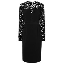 Buy L.K. Bennett Alexine Dress, Black Online at johnlewis.com
