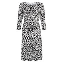 Buy Hobbs Melinda Dress, Black Online at johnlewis.com