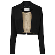 Buy L.K. Bennett Tawna Jacket, Black Online at johnlewis.com