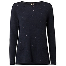 Buy White Stuff Stargazer Jumper, Pottery Blue Online at johnlewis.com