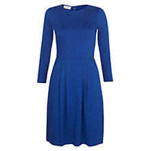 Buy Hobbs Emma Dress, Dark Cobalt Online at johnlewis.com