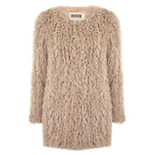 Buy Mint Velvet Shearling Coat, Camel Online at johnlewis.com