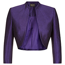 Buy Precis Petite Crinkle Bolero, Purple Online at johnlewis.com