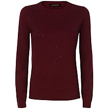 Buy Jaeger Embellished Hot Fix Jumper Online at johnlewis.com