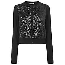 Buy L.K. Bennett Luciana Sequin Cardigan Online at johnlewis.com