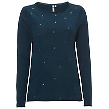 Buy White Stuff Stargazer Jumper, Heron Blue Online at johnlewis.com