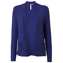Buy White Stuff Lovely Loom Cardigan, Ultraviolet Online at johnlewis.com