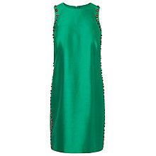 Buy L.K. Bennett Minnie Embellished Dress, Green Online at johnlewis.com