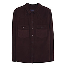 Buy Violeta by Mango Corduroy Shirt, Medium Brown Online at johnlewis.com