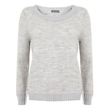 Buy Mint Velvet Boucle Crop Jumper, Grey Online at johnlewis.com