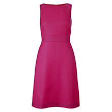 Buy Hobbs Glenda Wool Dress, Hot Pink Online at johnlewis.com