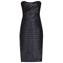 Buy Reiss Marilyn Bustier Top Dress, Midnight Online at johnlewis.com