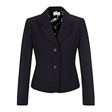 Buy Hobbs Regina Jacket, Navy Online at johnlewis.com