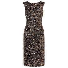 Buy L.K. Bennett Quinn Sequin Dress, Gold Online at johnlewis.com