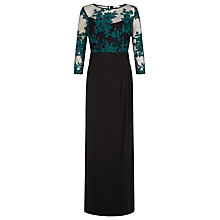 Buy Kaliko Lace Top Maxi Dress, Multi/Green Online at johnlewis.com