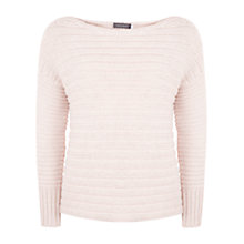 Buy Mint Velvet Rib Knit Cropped Jumper Online at johnlewis.com