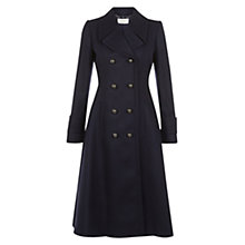 Buy Hobbs Delaney Coat, Navy Online at johnlewis.com
