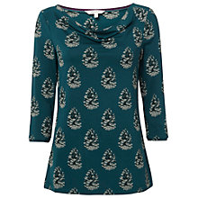 Buy White Stuff Vida Jersey Tee, Decadent Green Online at johnlewis.com