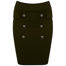 Buy Miss Selfridge Button Front Skirt Online at johnlewis.com