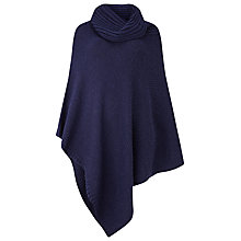 Buy Phase Eight Cashel Poncho, Navy Online at johnlewis.com