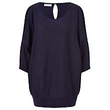 Buy Windsmoor Lurex Jumper, Navy Online at johnlewis.com