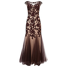 Buy Phase Eight Collection 8 Rita Tulle Dress, Oxblood Online at johnlewis.com