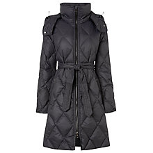 Buy L.K. Bennett Pallini Down Jacket, Steel Online at johnlewis.com