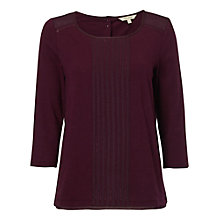 Buy White Stuff Millie Jersey Tee, Eclectic Purple Online at johnlewis.com