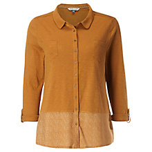 Buy White Stuff Melinka Spot Jersey Shirt, Basket Copper Online at johnlewis.com