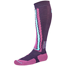 Buy Helly Hansen Ski Slalom Socks, Pack of 2, Plum/Mulberry Online at johnlewis.com