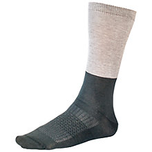 Buy Helly Hansen Liner Ski Socks, Pack of 2, Grey/Black Online at johnlewis.com