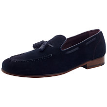 Buy Ted Baker Wharen Suede Loafers Online at johnlewis.com