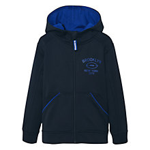 Buy Mango Kids Boys' Brooklyn Zip Hoodie, Black Online at johnlewis.com