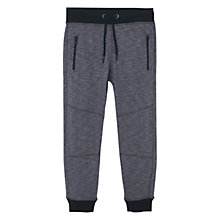 Buy Mango Kids Boys' Flecked Jogger Trousers, Grey Online at johnlewis.com